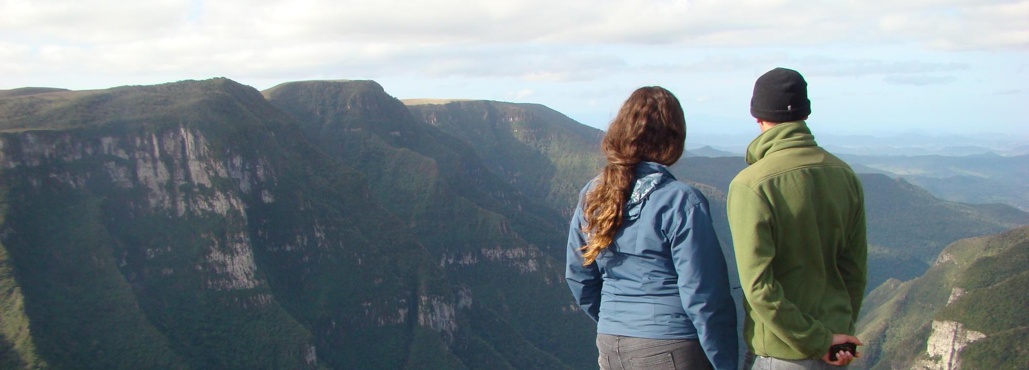 Ecoturismo no inverno - Canions Aparados da Serra