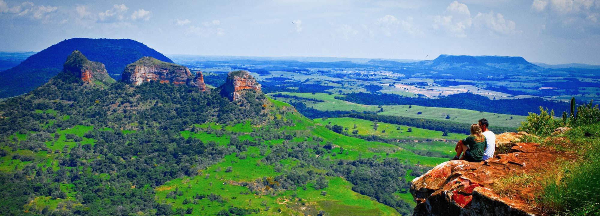 paisagem de ecoturismo em sao paulo